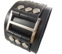 2013 trendy handmade braided fashion punk belt vintage H unisex mens black plain leather bracelets for women jewelry bangle