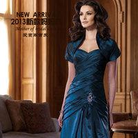 2013 mother formal dress banquet quinquagenarian formal dress piece set multicolor
