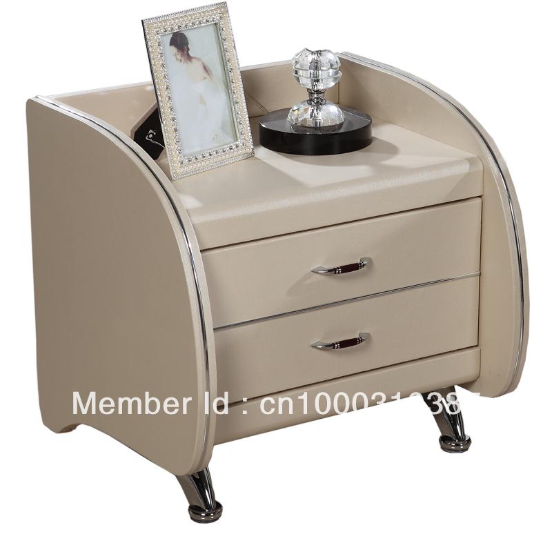 Achetez en gros cuir de chevet en ligne des grossistes cuir de chevet chino - Table de chevet cuir ...