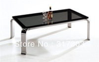glass tables, coffe table, stainless steel foot,  Toughened glass, simple design, fashional 934