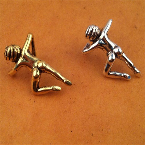 Fashion Cute Mini Climbing Human Shaped Persoanlity Trendy Ear Cuff For Women & Men JYEM-0410070(China (Mainland))