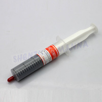 Grey Thermal Grease Paste Compound Silicone for CPU GPU VGA Heatsink 30g 30PCS FREE SHIPPING #DN044