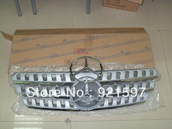 OEM ABS plastic High quality Front chrome Grille suitable used for Mercedes W163 ML320 1998-2005 grille free shipping EMS,FedEx