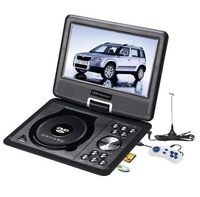 9.5 inch Portable DVD Player LCD Screen 270 Degree Rotation TV Free 300 Game Function US Stock MP0251