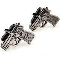 Pistol Cufflink 15 Pairs Free Shipping