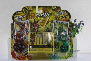Educational Toy Ninjago Lord Carmadom VS Lorldy ZX Building Block Ninjago Spring Top Block Set Free Shipping