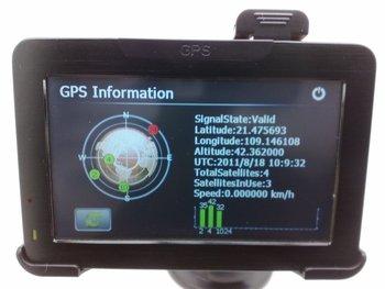 "4.3"" GPS Navigation Touch Screen MP3,FM+2GB EURO 3D MAP,U.K. SELLER"