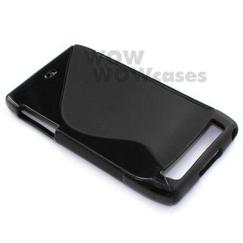Free Shipping 2 Piece Black TPU Gel Soft Case Cover S-Line For Motorola Droid RAZR 4G XT910 Hong Kong Seller
