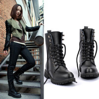 2013 new spring autumn winter single boots for women motorcycle boots martin boots platform wedge shoes fashion snow boots