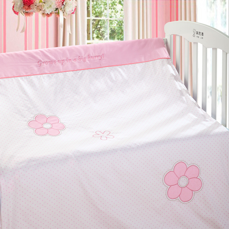 Baby bedding baby bedding piece set child bedding kit bed sheets duvet cover pillow case(China (Mainland))