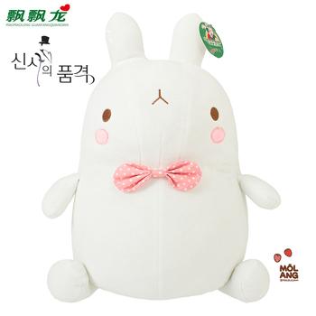 Car Dolls rabbit plush toy with bowknot birthday gift wedding plush toys kids favorite gifts drop shipping