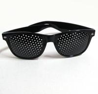 Black Pinhole Hole Eyes Eyesight Vision Training Exercise Care Improve Glasses