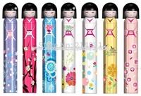 Wholesale - 50pcs Lot Kokeshi Doll Umbrella w Hard Case Geisha Girl Japanese Lady China, Japanese Doll Umbrella, Free Shipping