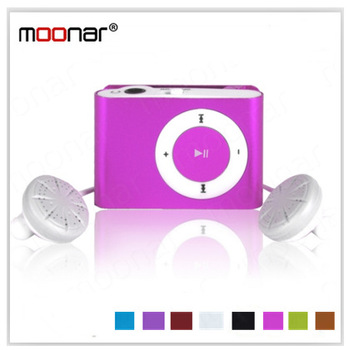 Mini clip MP3 Player With TF Card Shot  MP3 Music Player 8 Colors For Choice DA0590 -20