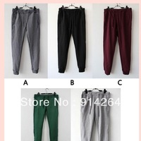 New Womens Girl Casual Fleece Sweatpants Straight Sports Harem Hip-Hop Pants Pgn  free shipping