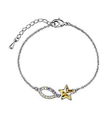 produto Crystal bracelet bracelet - tartaros yellow crystal crystal jewelry