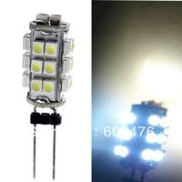 3528 LED Light Home Car RV Marine Boat LED Lamp Bulb Free Shipping 12V G4 Led White 26 SMD