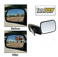 360 rotating TOTAL VIEW Adjustable Blind Spot Mirror/Car Panoramic Rear View Mirror Monitor 1pcs/lot