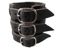 2013 trendy fashion belt buckle wide unisex mens plain leather bracelets for women jewelry bangle
