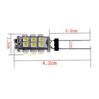 DC 12V G4 26 LED Lamp  White  SMD 3528  LED Bulb Lamps