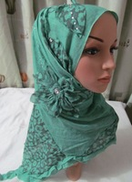 TC230 leisure cotton Leopard Print Scarf 200*50CM