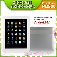 2013 Hot 9.7 inchFreelander PD800 FHDCapacitive Screen 2GB RAM;16GB HDDOS:Android 4.1CPU Speed:Max 1.8GHz/Blake