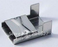 L type  Stainless Steel Buckles 12mm(SS304,100pcs/bag)