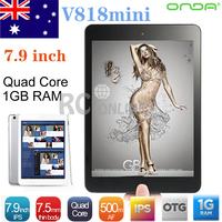 16GB 7.9 inch Onda V818mini Quad Core Tablet PC Android 4.1 Dual Camera HDMI OTG