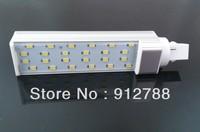 Free shipping CE&ROHS 15W G24 LED Bulb PL 5630 SMD  Light 24LED Lamp Cool|Warm White 85V-265V 10pcs/lot