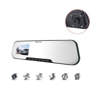 2.7 inch TFT LCD digital monitor rearview rear view mirror for car backup camera(China (Mainland))