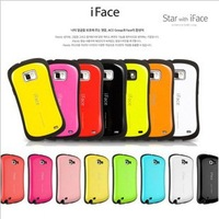 1pcs Freeshiping Wholesale iface case cover for Samsung Galaxy S2 i9100 ,colorful hard plastic case with box
