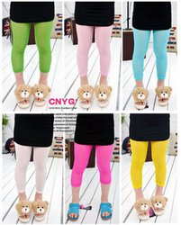 Wholesale 2012 autumn new children's clothing girls pants wholesale multicolor mesh leggings wholesale manufacturers, accusing(China (Mainland))