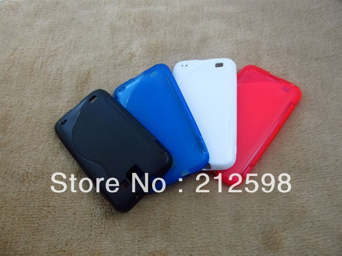 500 pcs/lot, DHL FREE SHIPPING, Anti-slip Matt S Line TPU Case for Samsung I757 Galaxy SII Skyrocket HD(China (Mainland))