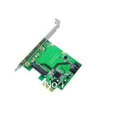 IO-PCE9130-1MS Hybrid raid Dual Port HDD/SSD PCI-E SATA3/MSATA Raid Express Card(China (Mainland))