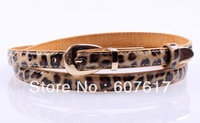 hot selling candy paint thin belt women's leather belts wholesale