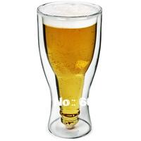 360ml  Upside Down Hopside Down Glass Beer Glass Beer Mug