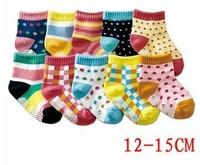 Free shipping  2013 new cotton socks  children socks Non-slip floor socks  Baby cotton socks