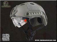 Emerson FAST Helmet with Protective Goggle PJ Type helmet Military airsoft helmet FG EM8819