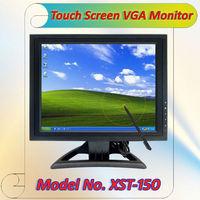 15 Inch computer lcd monitor PC Monitor VGA USB (XST-150-2)