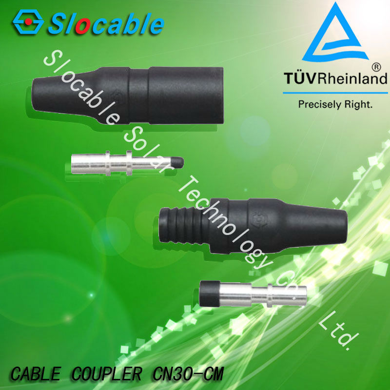 TUV approved Waterproof PV solar MC3 connector(China (Mainland))