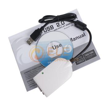 USB 2.0 To VGA Multi Display Adapter Converter USB to VGA Adapter Cable Converter Adapter USB VGA Adapter