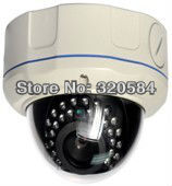 1080P Megapixel Network IP dome camera IP camera(China (Mainland))