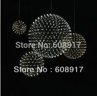 Free Shipping Dia 43CM Moooi Raimond Firework Suspension Stainless Steel Pendant Lamp