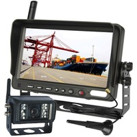 "7"" REVERSE LCD, WIRELESS REAR VIEW BACK UP CAMERA SYSTEM"