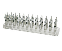 Acrylic Tattoo Tip Tube Display Shelf For Tattoo Gun Needle Ink Tips Grips Kits
