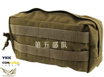 Flyye  horizontal accessories pouch, utility pouch, molle - xforce 1000d cordura