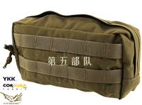 Flyye  horizontal accessories pouch, utility pouch, molle - xforce 1000d cordura