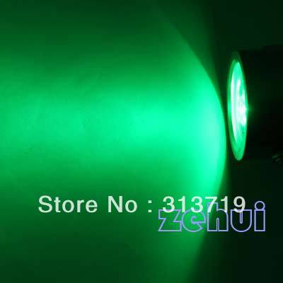 green LED Underwater Spot Light 12V 9W Light for Aquarium Pool Fountain drop free shipping JS0084G(China (Mainland))