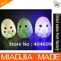 Free shipping / DHL 300pc/lot Romantic living color changing LED egg lights