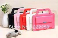 Handbag Portfolio Leather Case Cover Stand for iPad mini